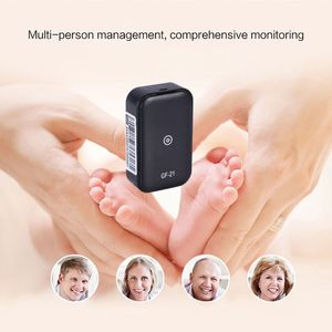 Image 3 - GF21 Mini GPS Real Time Car Tracker Anti Lost Device Voice Control Recording Locator High definition Microphone WIFI+LBS+GPS