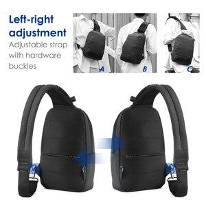 Image 2 - 2020 nowy Tigernu RFID z zabezpieczeniem przeciw kradzieży torba na klatkę piersiowa s wodoodporna mężczyźni lekka torba na klatkę piersiowa moda wysokiej jakości zamki błyskawiczne