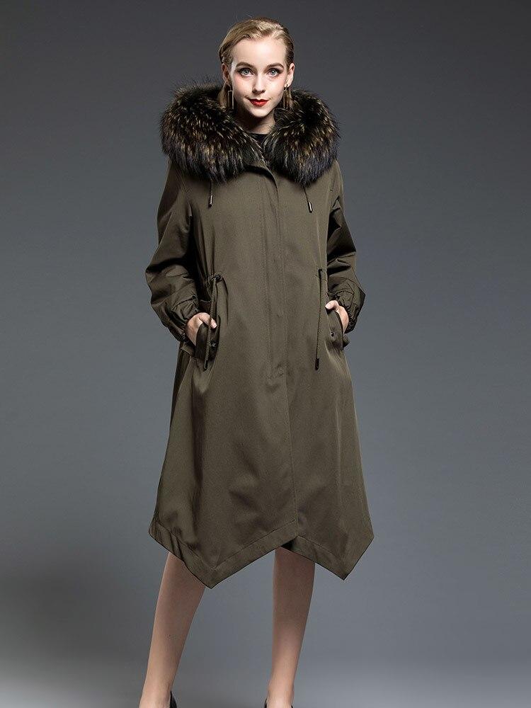 Women/'s Fur Collar Coat Leather Jacket Cotton Overcoat Parka Outwear Winter Warm