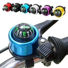 New High Quality Aluminum Alloy Bicycle Bell Road Mountain Bike Compass Sound Handlebar Ring Horn