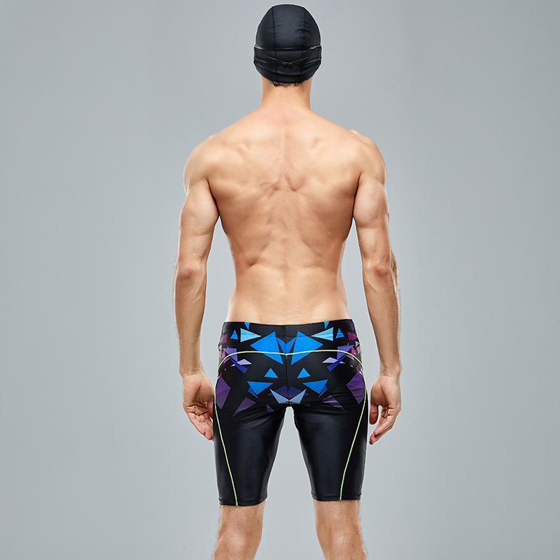 Men Short Swimming Trunks Large Size Swimming Trunks Swimming Trunks Swimming Trunks 2019 New Style Anti-Chlorine Elasticity Qui
