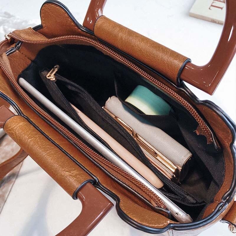 Sacs à main de luxe femmes sacs Designer mignon pendentif Vintage femme 2019 rétro filles sacs à bandoulière dames large sacs à bandoulière YY-07 - 5