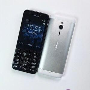 Image 4 - 잠금 해제 원래 노키아 230 단일 듀얼 Sim 휴대 전화 GSM 좋은 품질 단장 한 핸드폰 & 히브리어 아랍어 러시아어 키보드