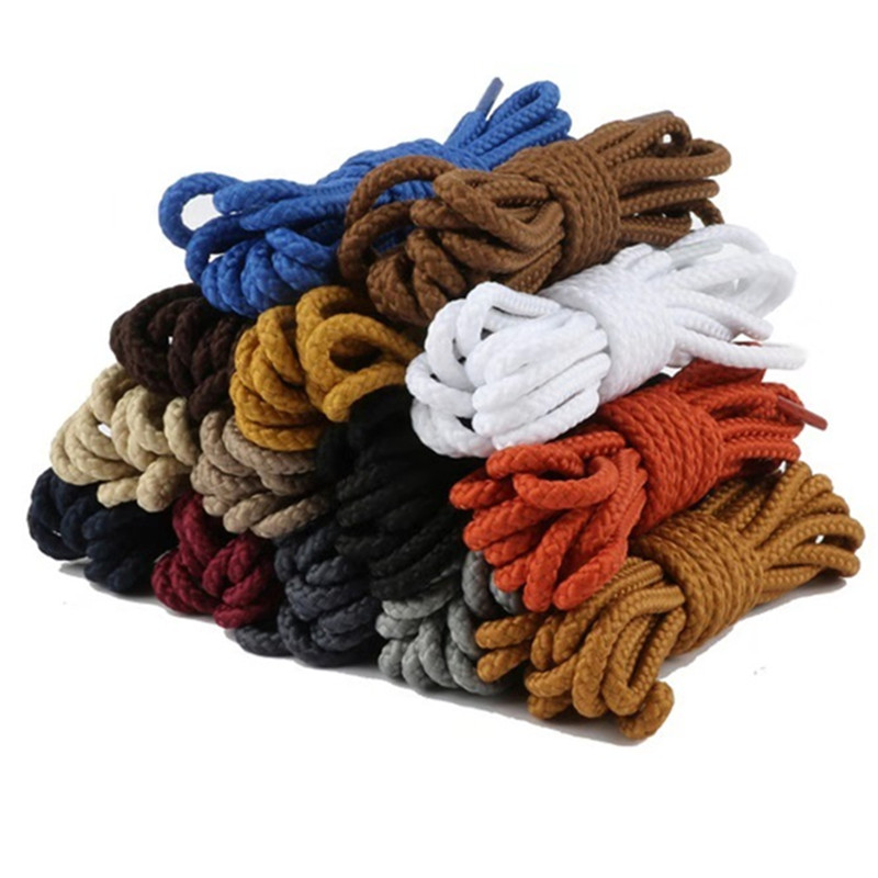 70/90/120/150 CM Casual Sports Shoe Lace Top Quality Polyester Solid Classic Round Shoelaces Martin Boot Shoelace New