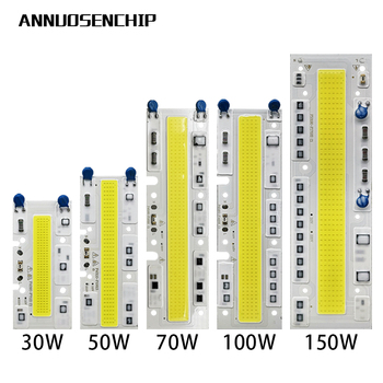 LED COB chip light emitting diode 30W 50W 70W 100W 150W AC110V AC220V LED lamp chip cold white warm white image