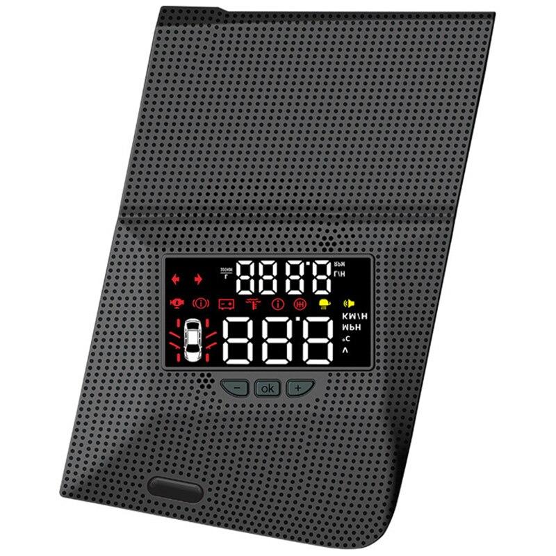 Car Head Up Display HUD For Toyota Prado 2014-2019 Driving Screen OBD II Speedometer Projector