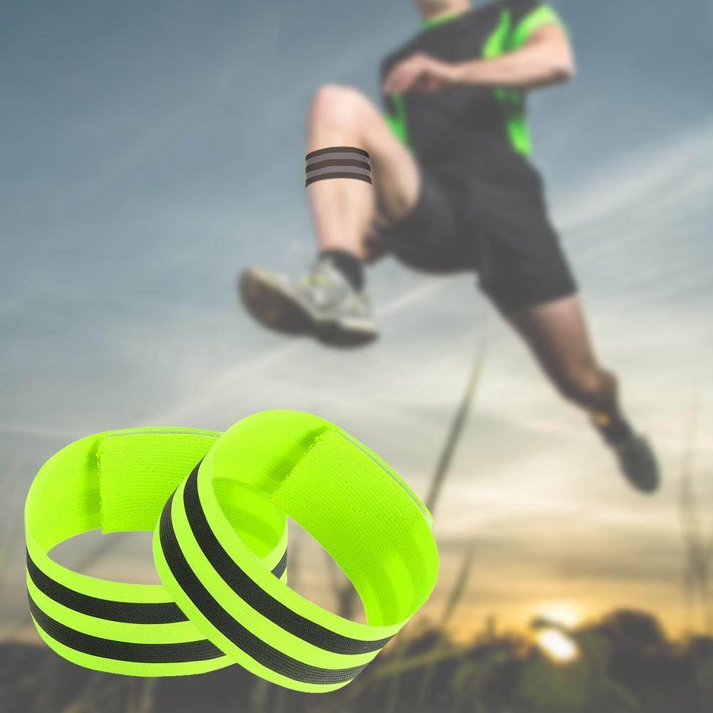 running - Night Reflective Safety Belt Night Run Armband For Outdoor Sports Night Running Cycling Jogging Arm Strap Luminous Arm Band