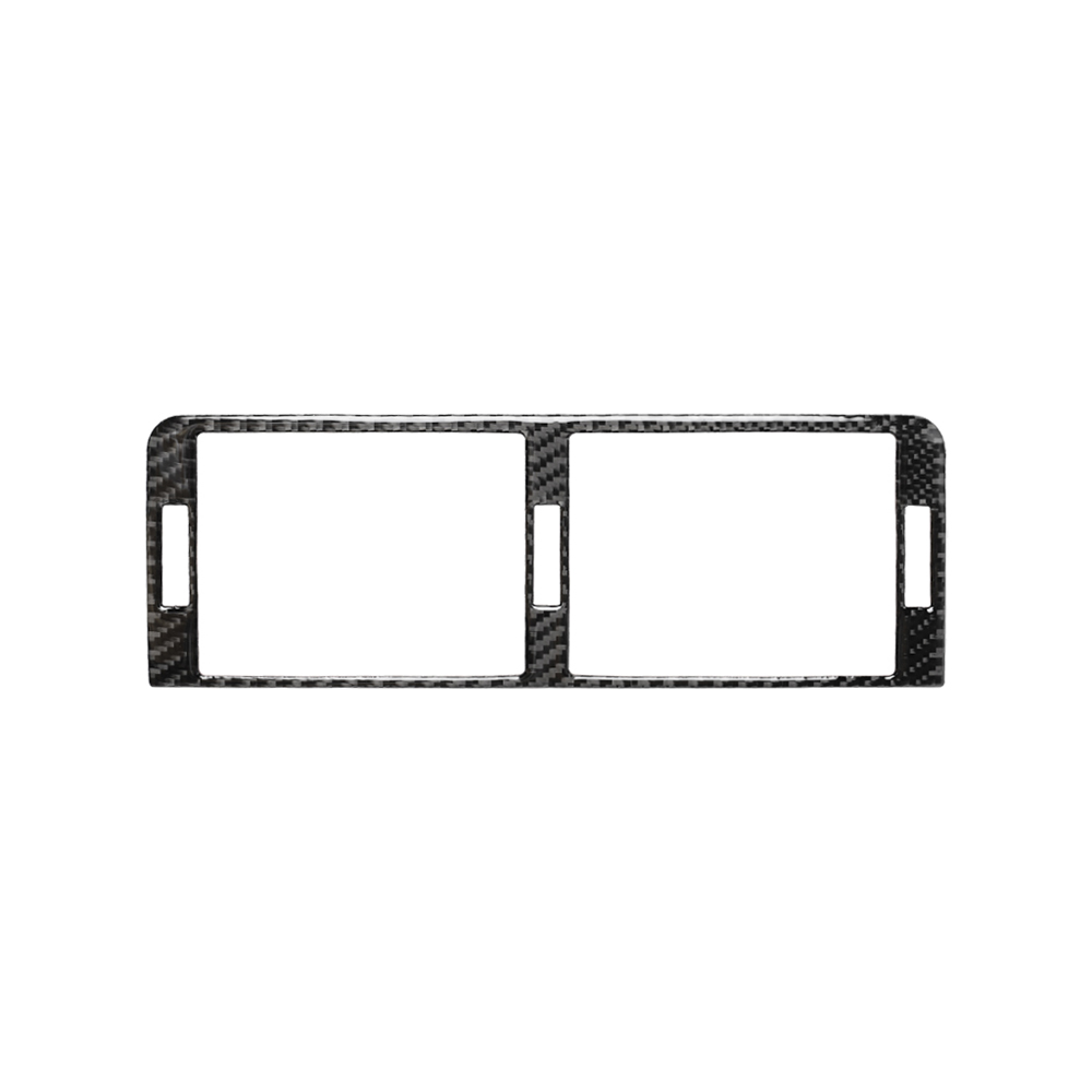Carbon Fiber Car Center Consoles A/C Vent Air Conditioning Outlet Panel Frame Cover Trim Sticker For BMW 3 Series E46(1998-2005)