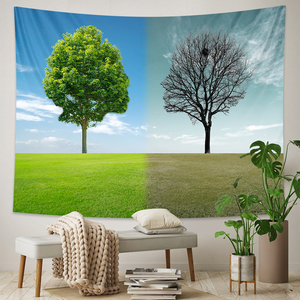 Art of life tapestry imitates human life fantasy forest Hippie living room bedroom home decoration tapestry Bohemian decoration