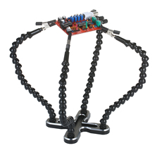 Pcb-Holder Welding-Tool 4 Arm-Alloy-Stand Third-Hand Multifunctional Flexible