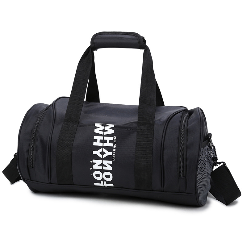 Large-Volume Gym Bag Women's Bags Lan Qiu Bao Men's Korean-style Short Trip Travel Bag Light Simple One-Shoulder Manufacturers