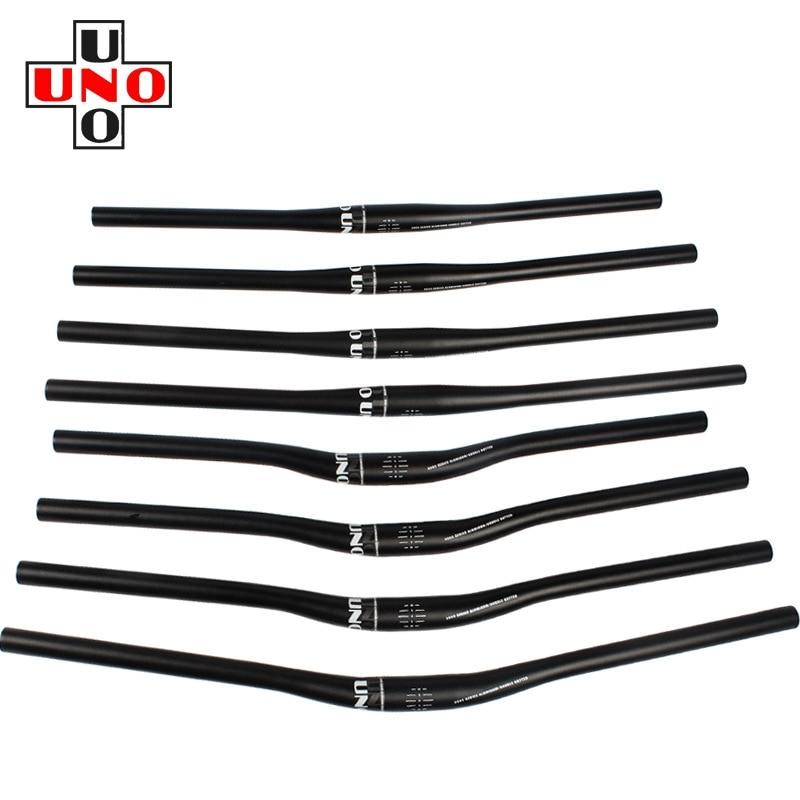 UNO MTB Road Bike Riser Flat Bar Bicycle Light Handlebar 31.8* 620//680//700//720mm