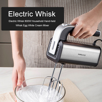 800W eléctrica de alta potencia de Mezclador de alimentos pasta licuadora batidor de huevo batidor en espiral mezclador de crema para el hogar cocina herramientas de la cocina