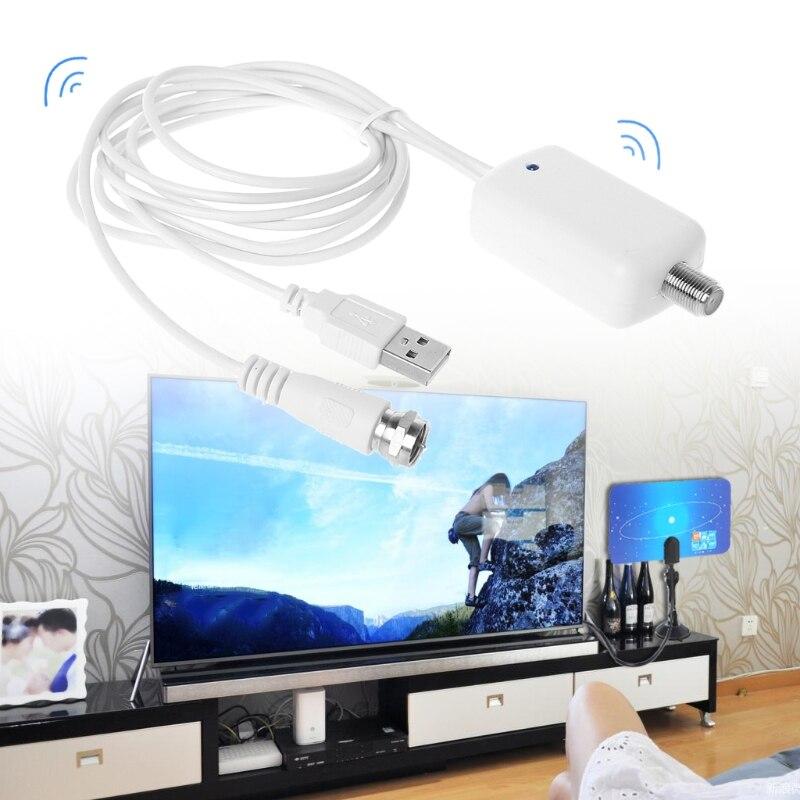 200 миля умная внутренняя телевизионная антена с HD satelite наземный приемник цифровая HD Антенна ТВ усилитель сигнала Anten усилитель тюнер DVB-T2