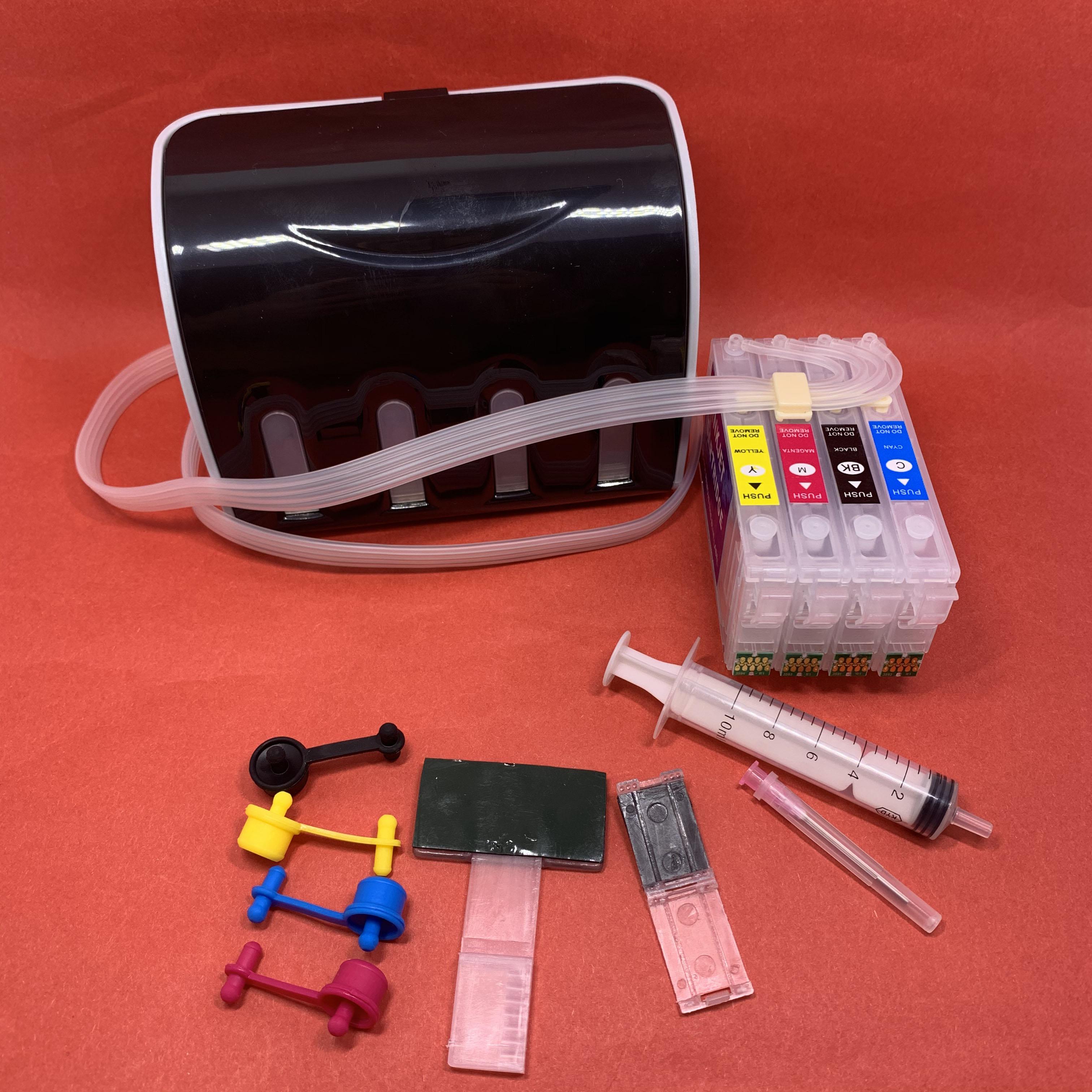 YOTAT CISS 35XL T359XL Ink Cartridge With ARC Chip T3591 - T3594 For Epson Workforce Pro WF-4720 WF-4725 WF-4740