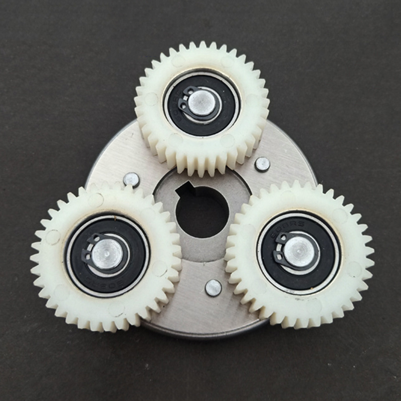 Electric Bike Bicycle 36T Gears + 70mm Clutch For Bafang Mid Drive Motor Nylon E-bike Accessories Parts