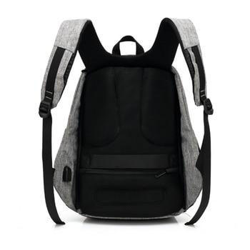 1 pcs Backpack Durable Energy-saving Exquisite Delicate Useful Solar Backpack for Backpacker Student Knapsacking 3