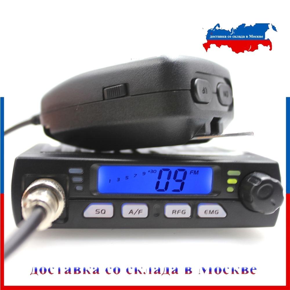 CB Radio Station Citizen-Band Amateur Mobie CB-40M Mini 10M AR-925 FM Compact Ultra Car