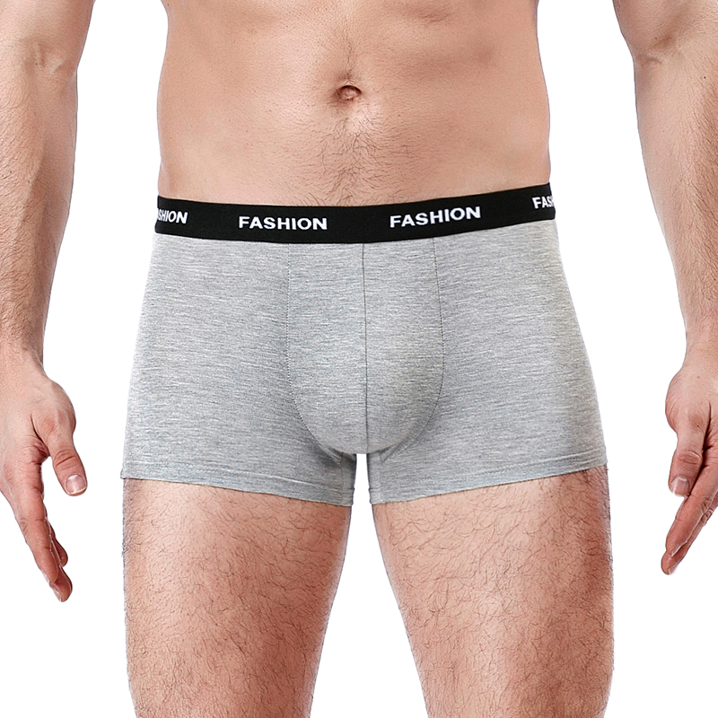 Sexy Men Boxer Soft Breathable Underwear Male Comfortable Solid Panties Underpants Cueca Boxershorts Homme For Men high quality