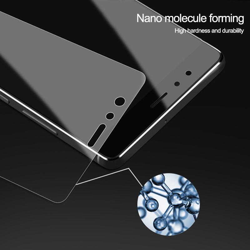 3D Protective Glass On The For Huawei P8 P9 P10 P20 Lite Screen Protector For Huawei P20 Pro P9 P10 Plus Tempered Glas Film Case 4