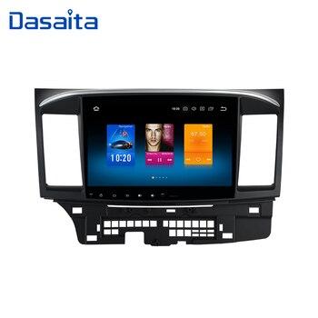 Dasaita 10.2 Android 9.0 Car GPS Player for Mitsubishi Lancer 10 EVO with 4G+32G Octa Core Auto Stereo Navi Radio Multimedia