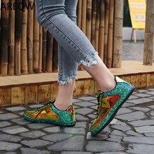 Г., весенне-осенняя однотонная модная женская обувь из блестящей кожи Новая женская повседневная обувь из pu искусственной кожи