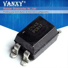 50 قطعة PC817C SOP4 PC817 C SOP PC817 C مصلحة الارصاد الجوية الجديدة والأصلية IC