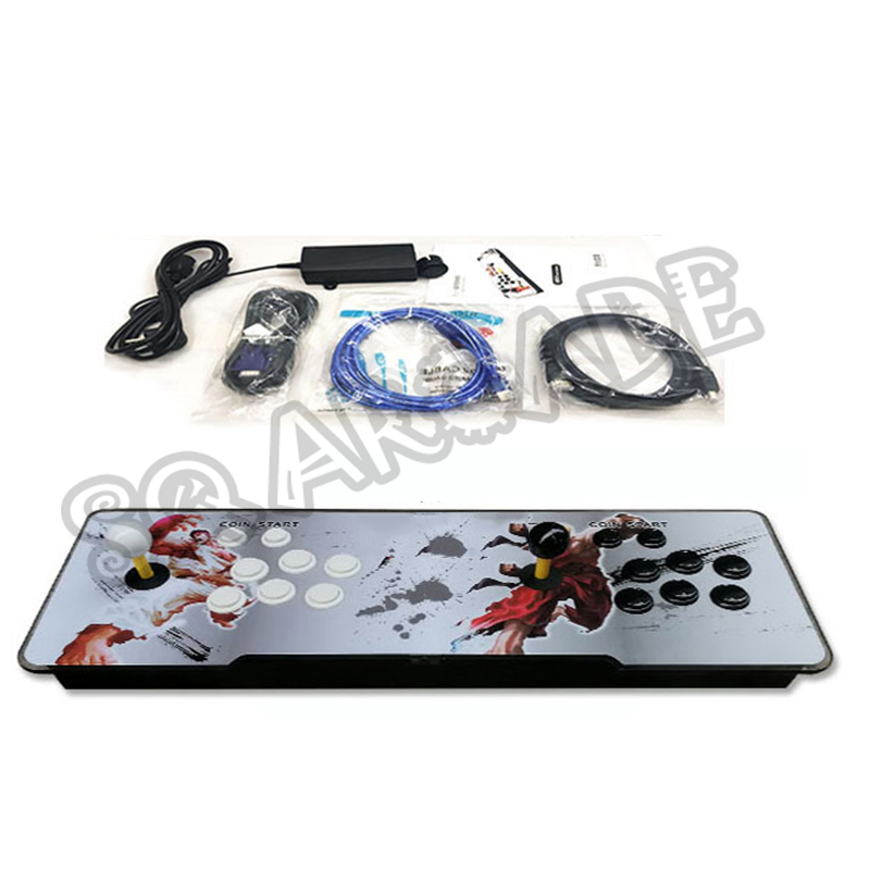Newest 2177 In 1 3D Video Arcade Game Machine 1220 In 1 Updated Version Arcade Console Double Arcade Joystick VGA / HDMI Output