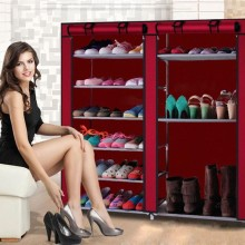 Dustproof Shoe Rack Large Non-Woven Fabric Shoe Stands Organizer Shoes Storage Home Shoes Rack Holder Shelf Cabinet