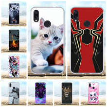 For Xiaomi Redmi Note 7 Pro Case Soft Silicone TPU Cover Dog Pattern Funda