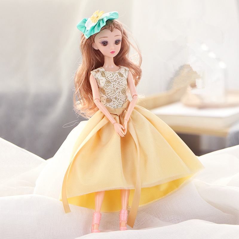 Fashion Handmade Dolls Clothes Multicolor princess Dress Daily Casual Wear Accessories Clothes for Barbie Doll Girl Gift|Dolls| - AliExpress