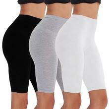 Pack Umweltfreundliche Viskose Spandex Bike Shorts Frau Fitness Aktive Tragen Sehr Weich Komfortable M30181 booty shorts shorts