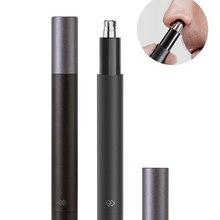 Электрический триммер для волос в носу и ушах, система вакуумной очистки для мужских волос в носу, водонепроницаемость IPX7, подарок для мужчи...