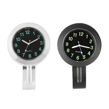 Универсальные мотоциклетные часы, часы, водонепроницаемая металлическая палочка, Искусственные часы, кварцевый механизм для велосипедов, ...