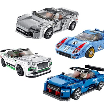City Model Technic Car Series Diy building blocks for kids rcing car God of War Classic kits kids boys toys Christmas Gifts image