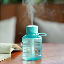 Water Bottle Air Humidifier Usb Charging Atomizer Car Desktop Ultrasonic Aroma Diffuser Essential Oil