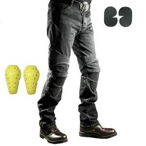 Image 2 - New KOMINE Motorcycle Pants Men Moto Jeans Protective Gear Riding Touring Motorbike Trousers Motocross Pants Pantalon Moto Pants