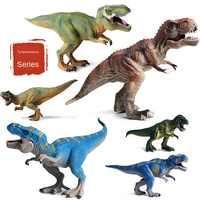 Dinosaurio extinto de la era del hielo, Tiranosaurio Rex, modelo monstruo con boca grande, juguetes de dinosaurio Rex, simulación de animales de plástico, producto soldado