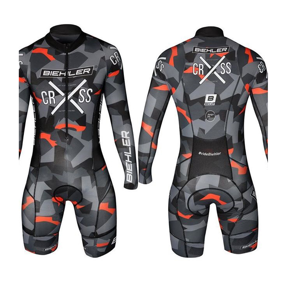 Cycling Skinsuit Men Aero Professional Bicycle Suit Long-sleeved Bike Clothing MTB Racing Set Ciclismo Team Cycling Triathlon