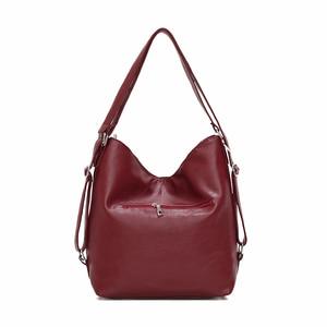Image 3 - Luxury Handbags Women Bags Designer 2019 Women soft leather shoulder Bag Retro Solid Vintage Casual Tote Bag Ladies Hand Bags