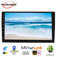 "Autoradio 2 Din Auto Radio 10 ""MP5 Player für Android 9,1 Multi-media WIFI GPS Navi Mirrorlink Band recorder Auto Audio Bluetooth"