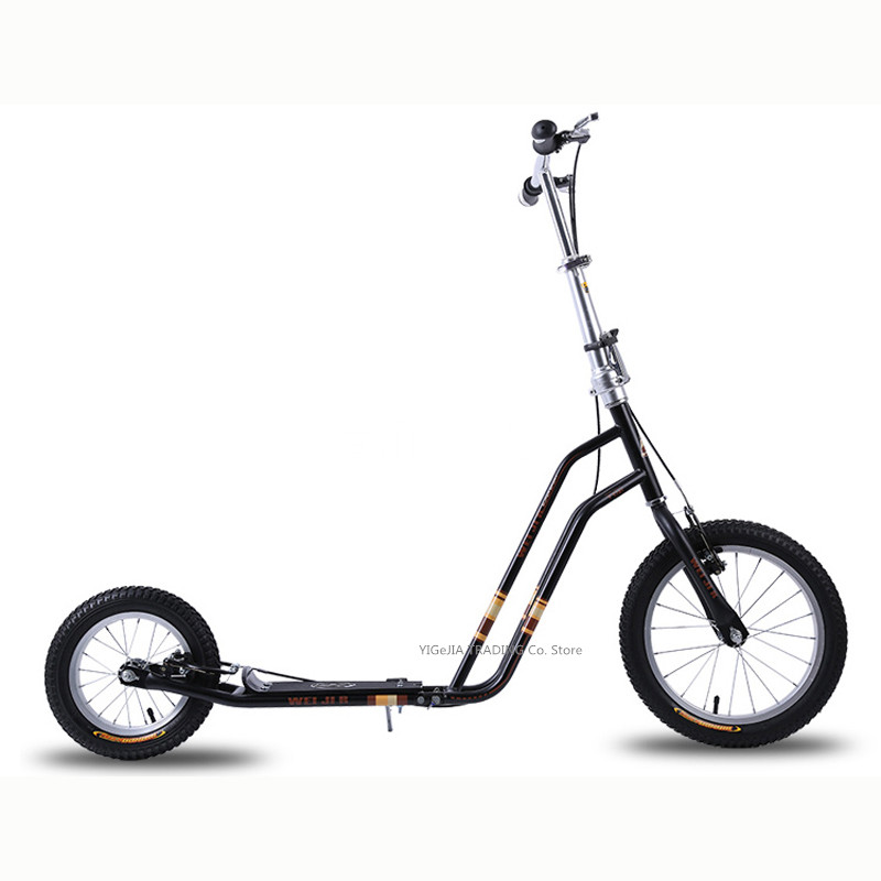 16 Inch Adult Kick Scooter City Urban Commuter Street Push Scooter With Hand Brake