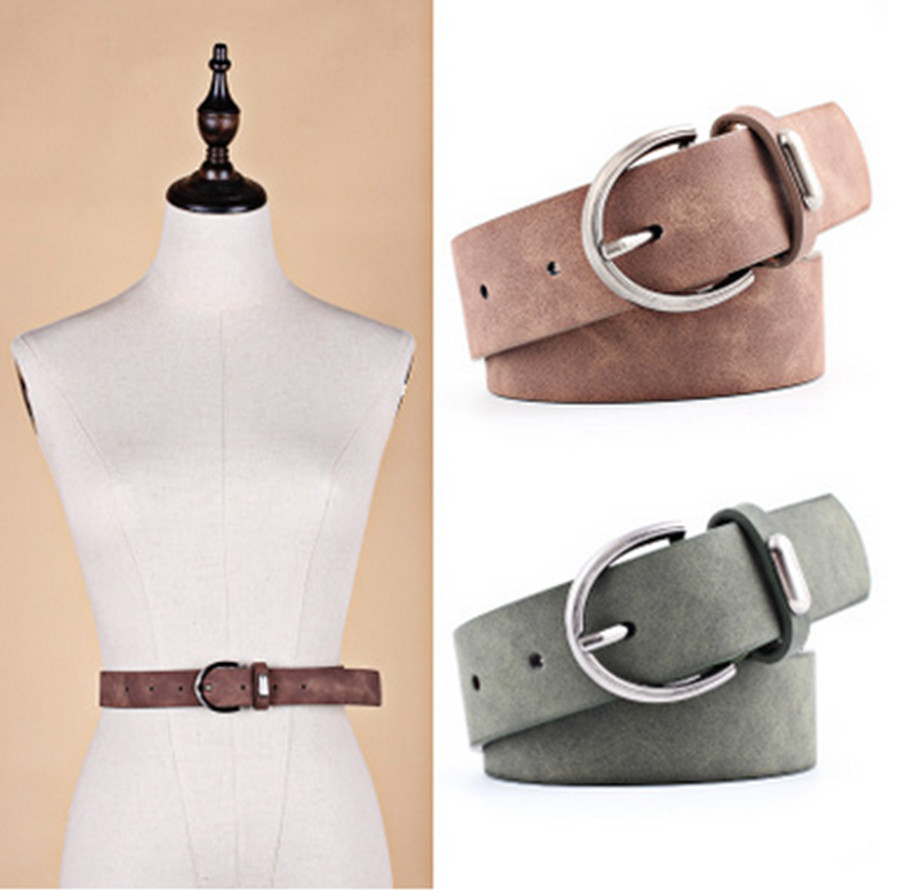 Wild Universal Woven Belt Casual Fashion Stretch Student Canvas Pin Buckle Belt Belt Women