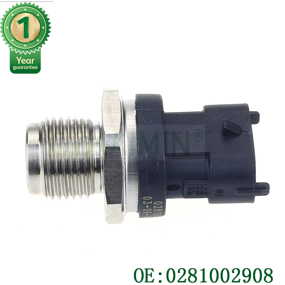 New Fuel Pressure Sensor For Alfa Romeo Lancia Renault Kia Hyundai 0281002734 0281002908 3 Pins