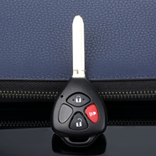 3 Buttons Car Remote Key Shell Case Fit For Toyota RAV4 Yaris Venza Matrix Scion tc xA xb xd Uncut Blade Auto Replacement