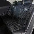 Кожаный чехол для автомобильного сиденья  с кристаллами  короной и заклепками  автомобильные аксессуары для интерьера  универсальные чехлы...