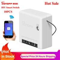 Sonoff Mini/Basic Two Way Smart Switch Wifi Timer DIY Switch Smart Home Remote Control Via Ewelink Work with Alexa Google Home