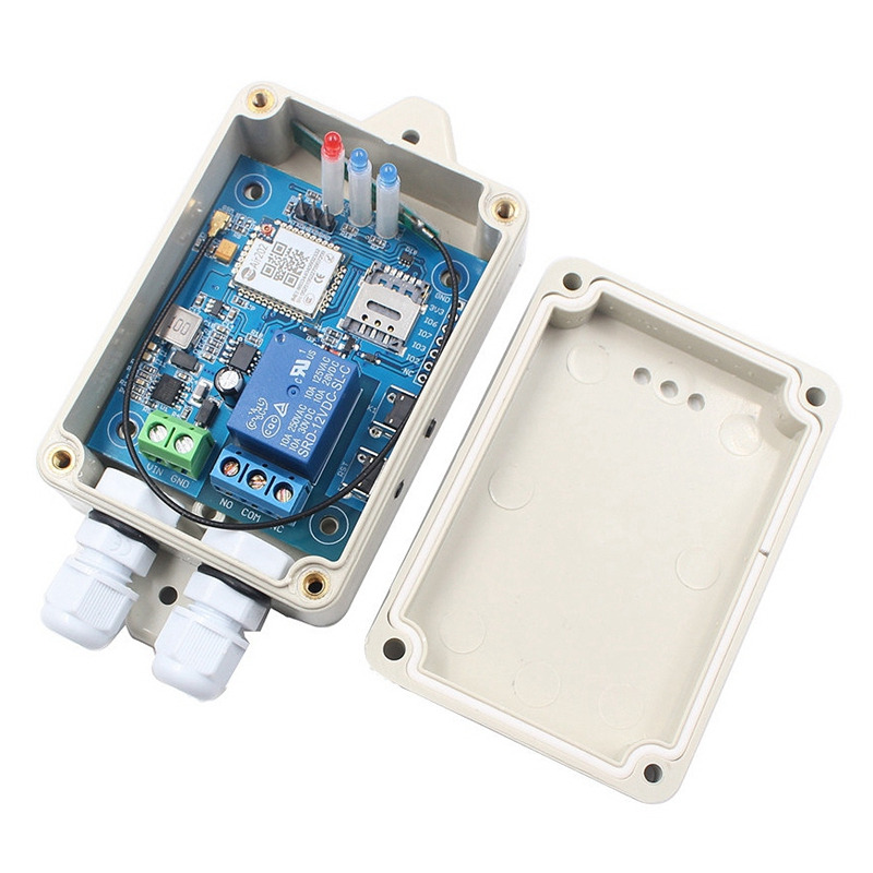 GPRS Remote Control Switch IoT Remote Intelligent Home Water Pump Irrigation Intelligent Planting Controller Module