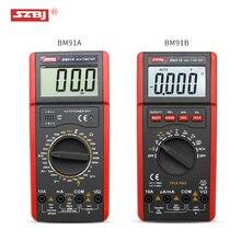 SZBJ high precision digital multimeter BM91A / BM91B AC/DC backlight automatic range capacitance meter 1pcs victory vc86b digital multimeter victor86b high precision automatic range for watchband usb interface