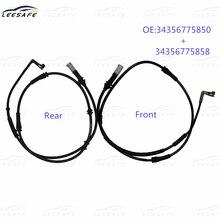 34356775850 34356775858 передние+задние тормозные колодки износ датчик для BMW F01 в Ф02 Ф03 Ф04 730i с 740i 750i полный 760i электрический индикатор